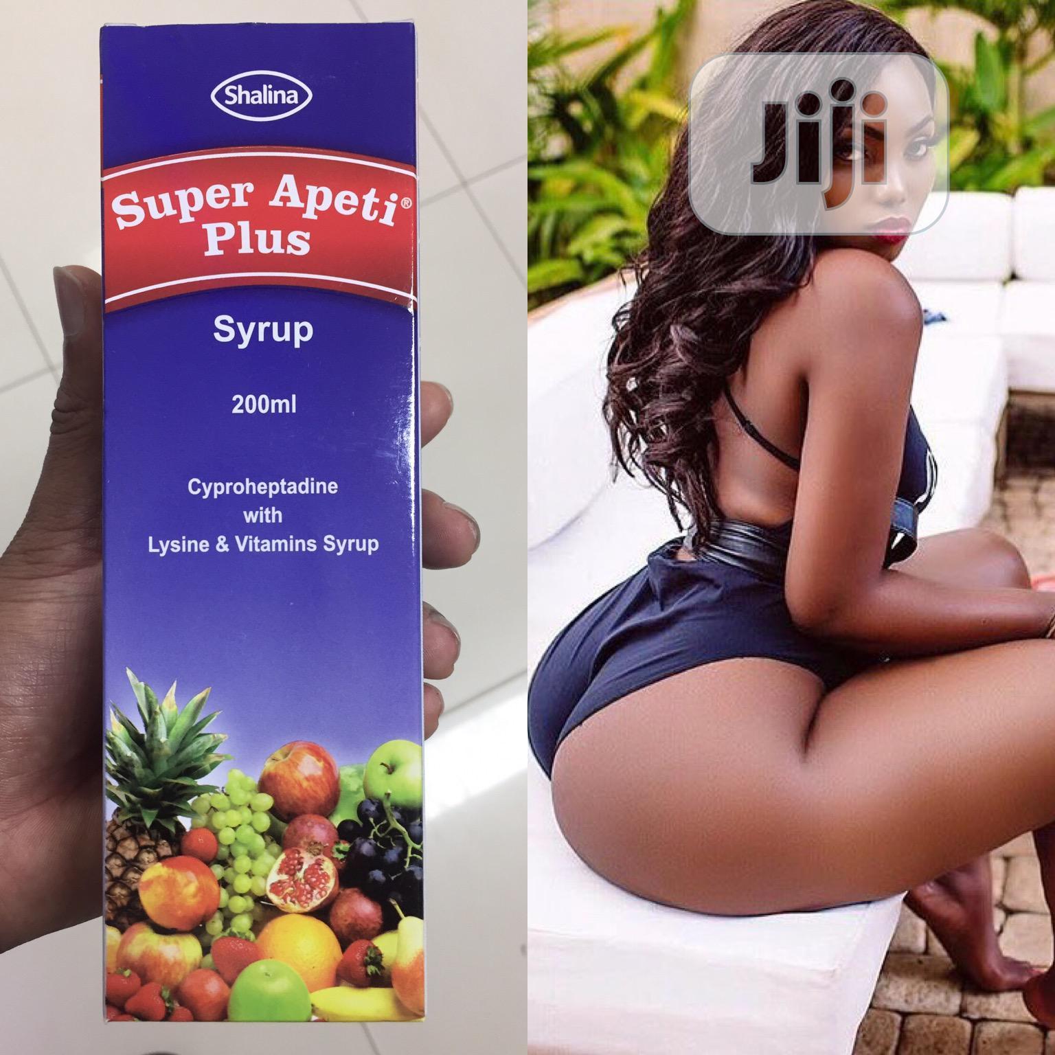 Apeti Plus - Effective Boobs, Hips & Butt Enlargement Vitamin Syrup