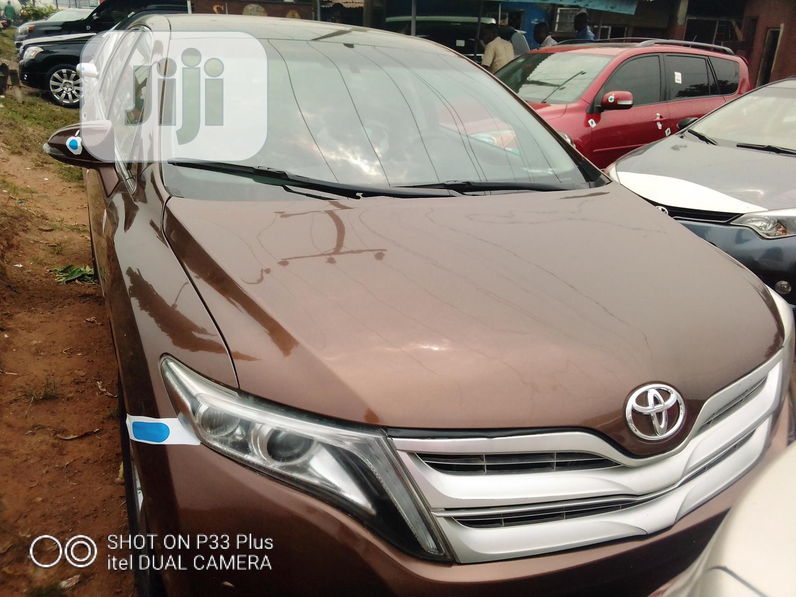 Toyota Venza 2015 Brown