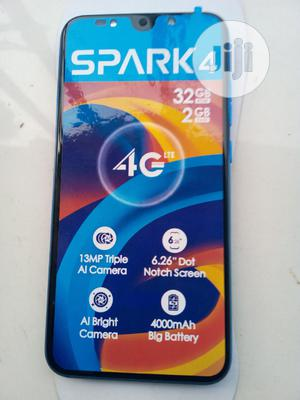 Tecno Spark 4 32 GB Blue | Mobile Phones for sale in Lagos State, Alimosho