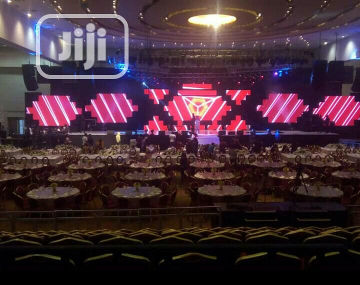 Rental LED Screen/Stage Lights | DJ & Entertainment Services for sale in Uyo, Akwa Ibom State, Nigeria