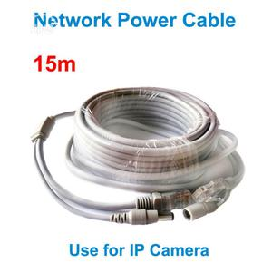 15M Ethernet Cable RJ45+DC Power Cat 6 Cable | Accessories & Supplies for Electronics for sale in Lagos State, Ikeja