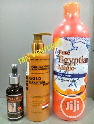 Pure Egyptian Magic Whitening Set | Skin Care for sale in Lagos State, Amuwo-Odofin