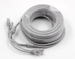 50M Ethernet Cable RJ45+DC Power Cat 6 Cable | Accessories & Supplies for Electronics for sale in Lagos State, Ikeja