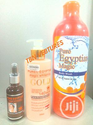 Pure Egyptian Magic Whitening Set (With Purec Gold Lotion) | Skin Care for sale in Lagos State, Amuwo-Odofin