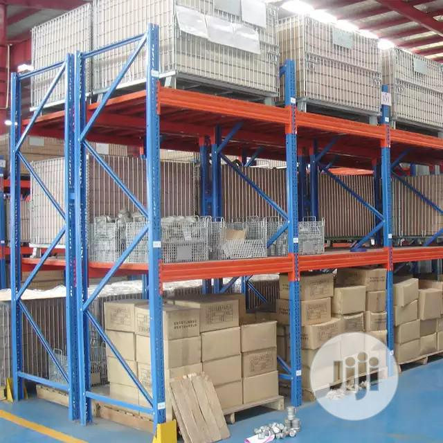 Customizes Steel Heavy Duty Warehouse Storage Pallet Racks | Store Equipment for sale in Lagos State, Nigeria