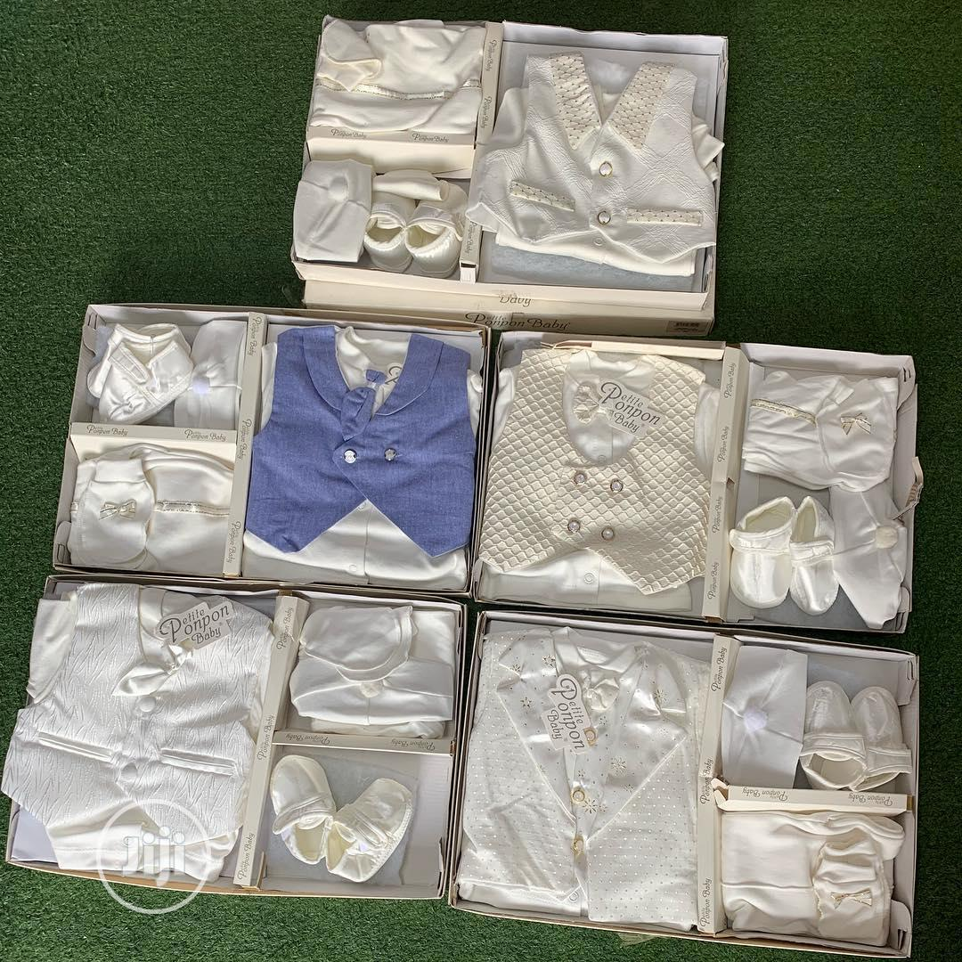 Baby Boy Christening Cloth | Children's Clothing for sale in Alimosho, Lagos State, Nigeria