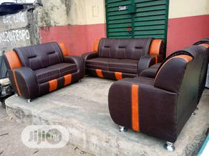 A Set Of 7 Seaters Chair Made Of Leather | Furniture for sale in Lagos State