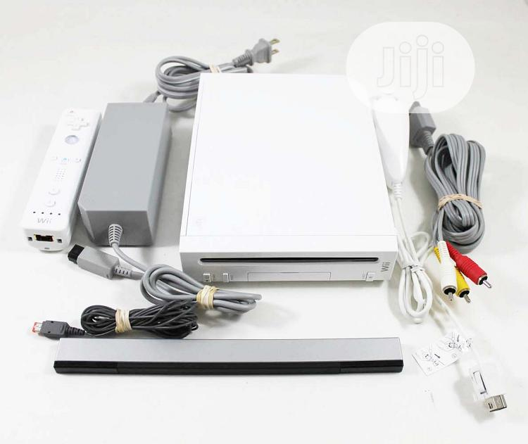 Archive: A Set of Nintendo Wii Console With the Wii Sports Cd