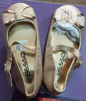 Champagne Colored Dress Shoes For Girls   Children's Shoes for sale in Lagos State, Lagos Island (Eko)