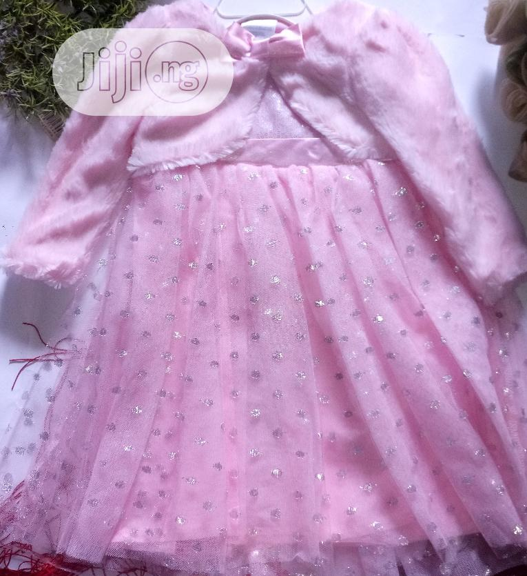 Nannette Baby Pink Dress | Children's Clothing for sale in Ikotun/Igando, Lagos State, Nigeria