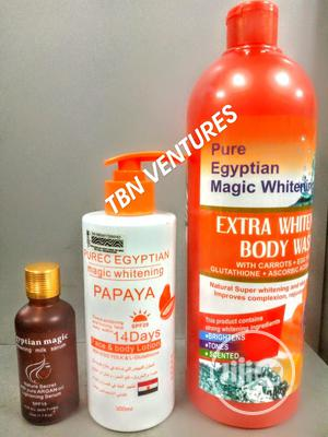 Pure Egyptian Magic Extra Whitening Set (With Purec Papaya | Skin Care for sale in Lagos State, Amuwo-Odofin
