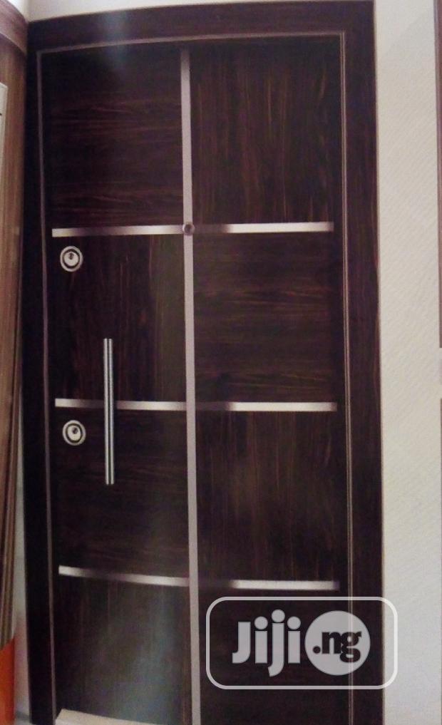 Original Turkey Security Steel Adjustable Doors
