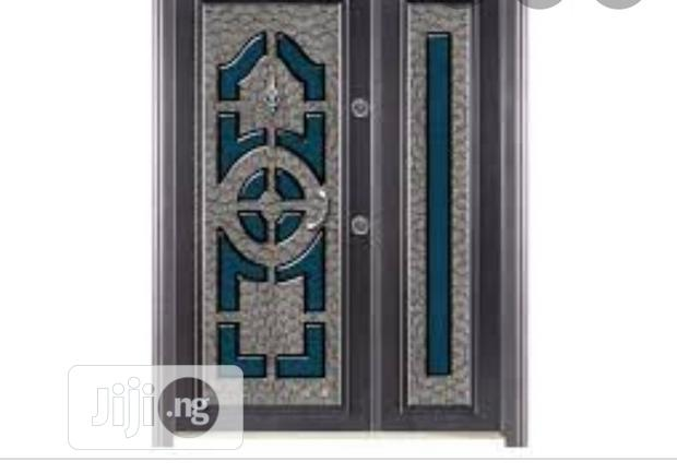 Original Luxury Turkey Security Steel Adjustable Front Doors