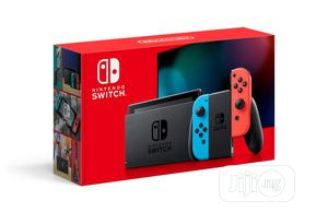 Nintendo Switch With Neon Blue & Neon Red Joy-con | Video Game Consoles for sale in Lagos State, Ikeja