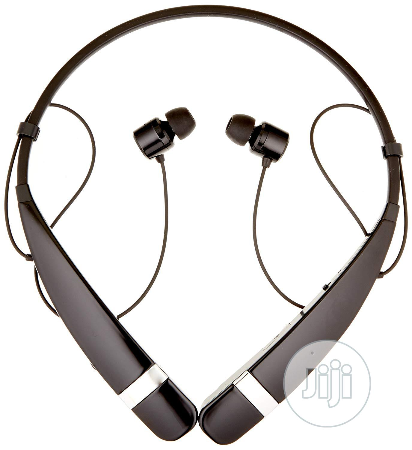 LG Tone Pro Bluetooth Wireless Stereo Headset - HBS-760 | Accessories for Mobile Phones & Tablets for sale in Ikeja, Lagos State, Nigeria