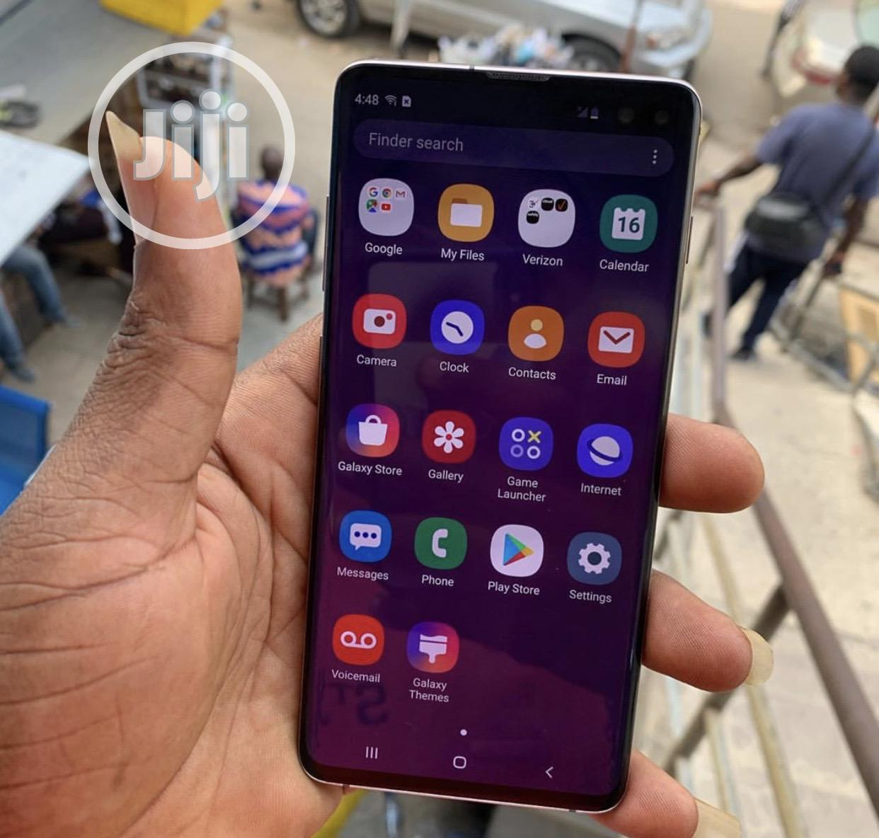 Samsung Galaxy S10 Plus 128 GB Black | Mobile Phones for sale in Ikeja, Lagos State, Nigeria