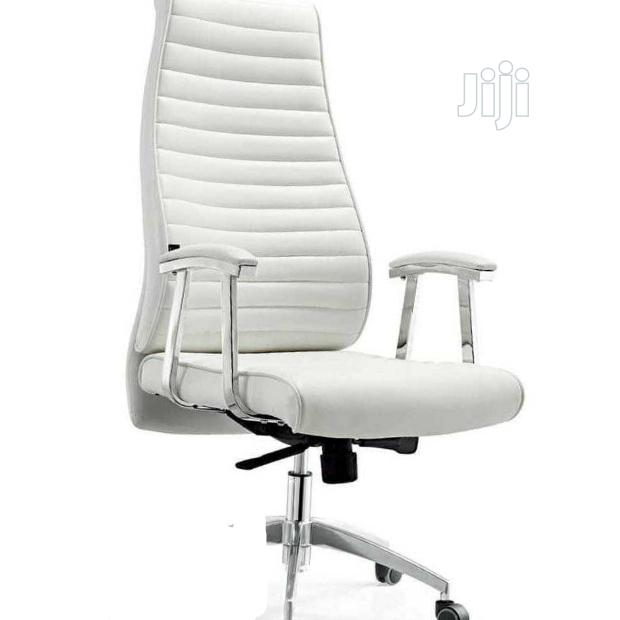 Prime White Executive Office Chair