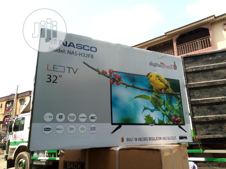 "New Nasco LED Full HD 32"" Built In Voltage Regulator And Decoder | TV & DVD Equipment for sale in Ojo, Lagos State, Nigeria"