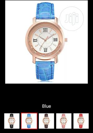 New Ladies Rhinestone Leather Wristwatch. Analog Quartz   Watches for sale in Rivers State, Port-Harcourt