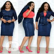 2 Piece Embroidered Turkish Jeans With Body Hug | Clothing for sale in Lagos State