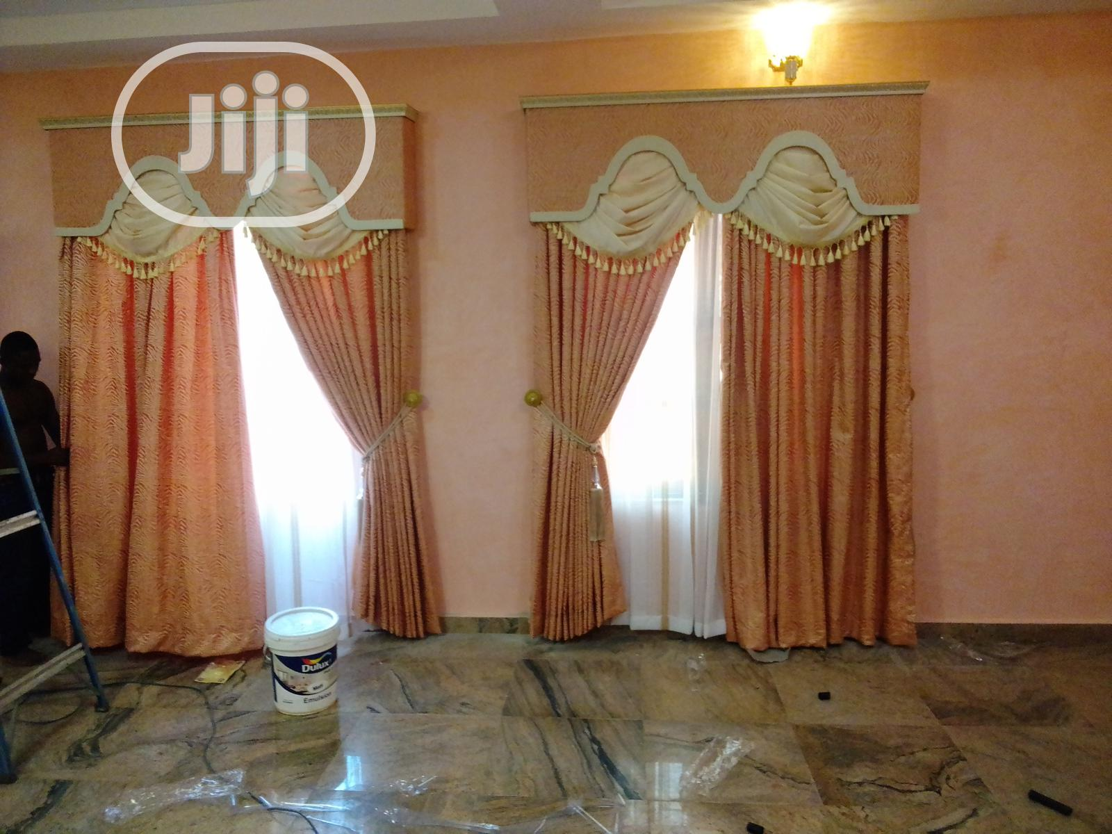 Royal Curtain   Home Accessories for sale in Lagos State, Nigeria