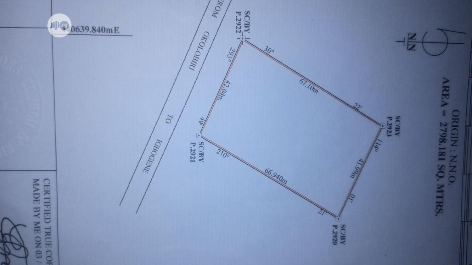 Archive: 6 Plots of Land for Sale at Igbogene