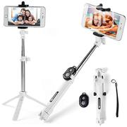 Extendable Selfie Self Stick Monopod Tripods Bluetooth Remote Shutter | Accessories for Mobile Phones & Tablets for sale in Lagos State, Ikoyi