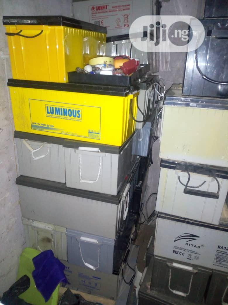 We Buy Condemned Inverter Batteries