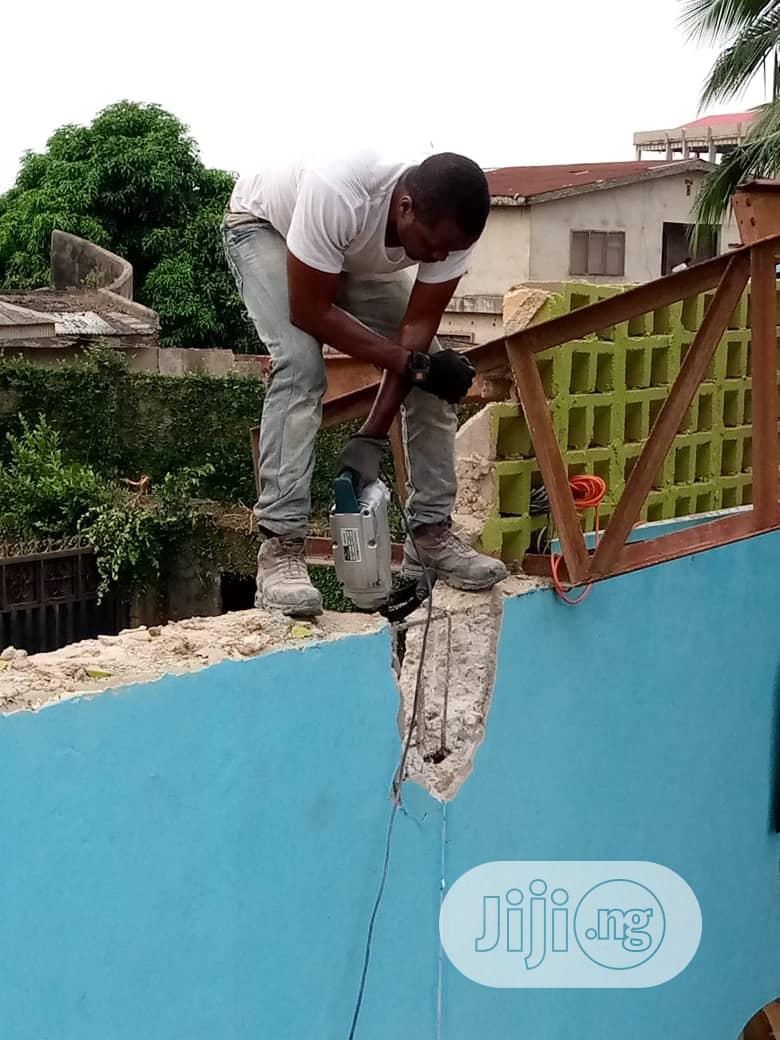 Demolition Or Concrete Breaking Jobs At Affordable Rates | Building & Trades Services for sale in Lagos Island, Lagos State, Nigeria