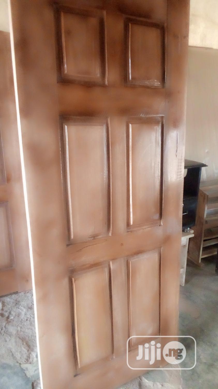 New Quality Wooden Panel Door For Sale | Doors for sale in Obafemi-Owode, Ogun State, Nigeria