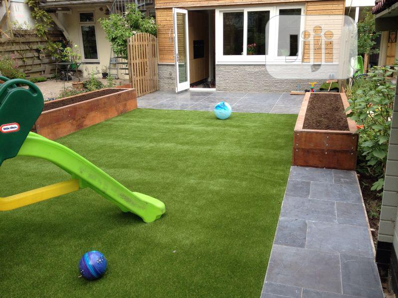 Artificial Grass For Children Playground