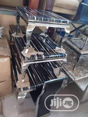 Set Of Dinning Table With 6 Chairs, Center Table With 2 Side Stools   Furniture for sale in Akwa Ibom State, Ikot Ekpene