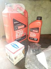 Engine Oil And Oil Filter For Ford Vehicle | Vehicle Parts & Accessories for sale in Lagos State, Surulere