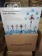 Rechargeable Solar DC Fan Available With 1yr Warranty | Solar Energy for sale in Lagos State, Ojo