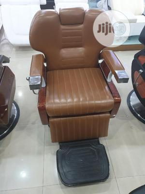 Barging Chair Brown   Salon Equipment for sale in Abuja (FCT) State, Wuse
