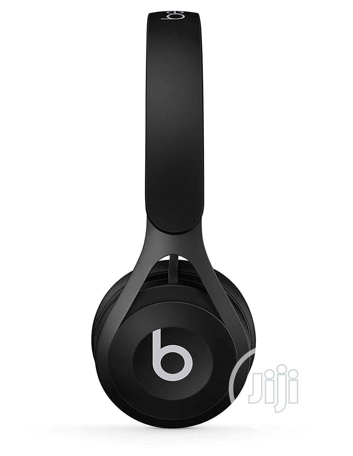 Beats By Dre EP Wired On-ear Headphone - Black | Headphones for sale in Ikeja, Lagos State, Nigeria