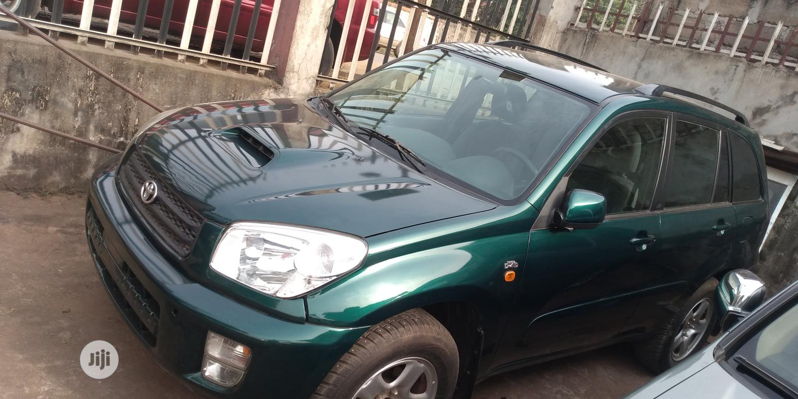 Toyota RAV4 2003 Green | Cars for sale in Onitsha, Anambra State, Nigeria