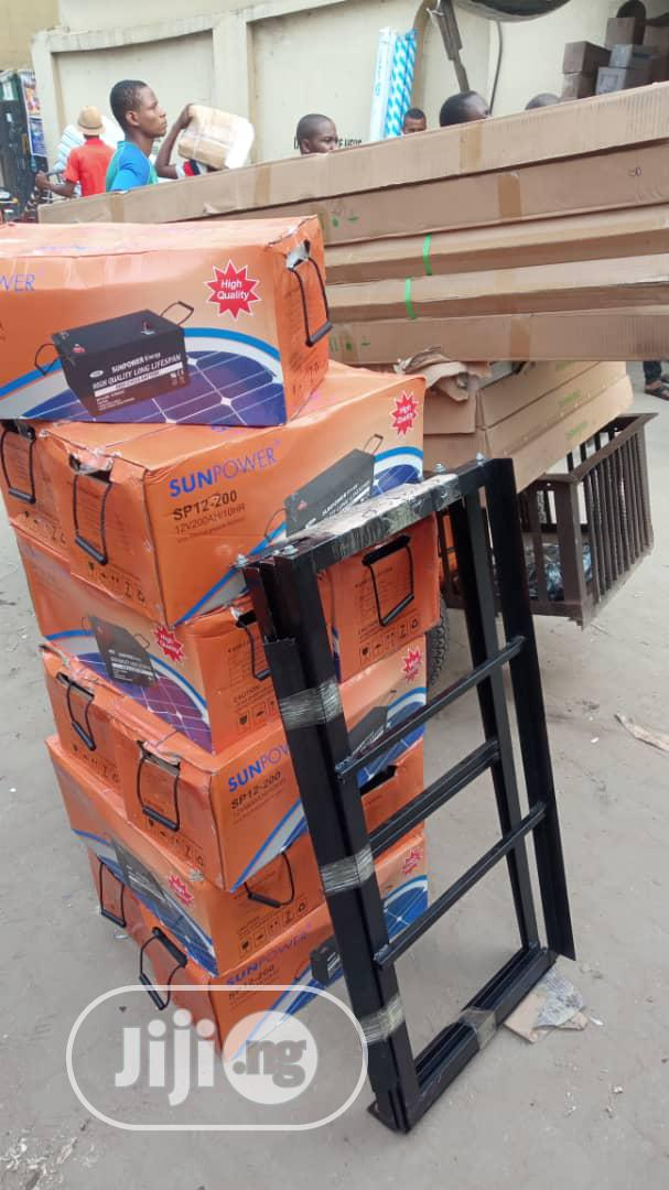 Solar Battery Stand   Solar Energy for sale in Ojo, Lagos State, Nigeria