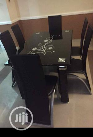 Glass Dining Table With Six Strong Chairs | Furniture for sale in Lagos State, Ikotun/Igando