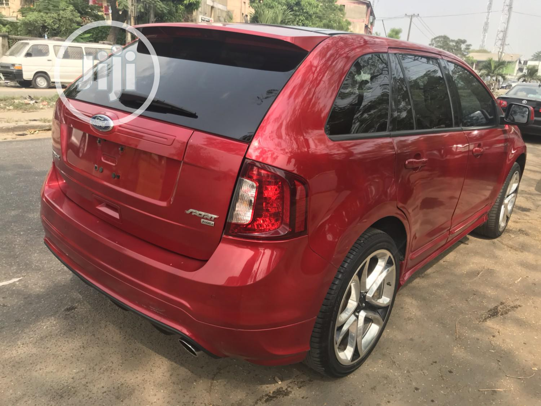 Ford Edge 2011 Red   Cars for sale in Amuwo-Odofin, Lagos State, Nigeria