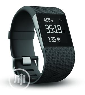Fitbit Surge Fitness Superwatch - Small - Black | Smart Watches & Trackers for sale in Lagos State, Ikeja
