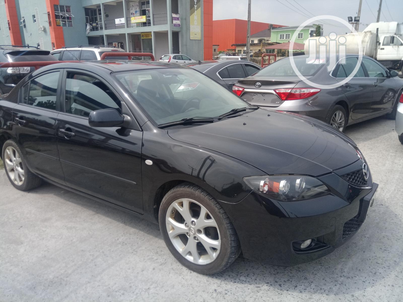 Archive: Mazda 3 2008 Black