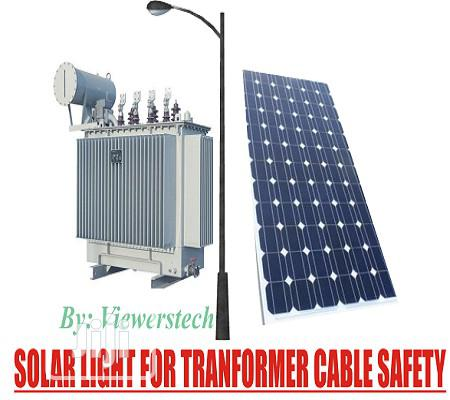 Archive: Solar Light for Street Transformer Safety With Installation