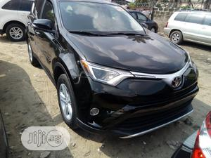 Toyota RAV4 2017 XLE AWD (2.5L 4cyl 6A) Black | Cars for sale in Lagos State, Amuwo-Odofin