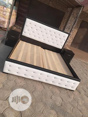 6by6 Bed Frame With 2 Side Drawer   Furniture for sale in Lagos State, Ojo