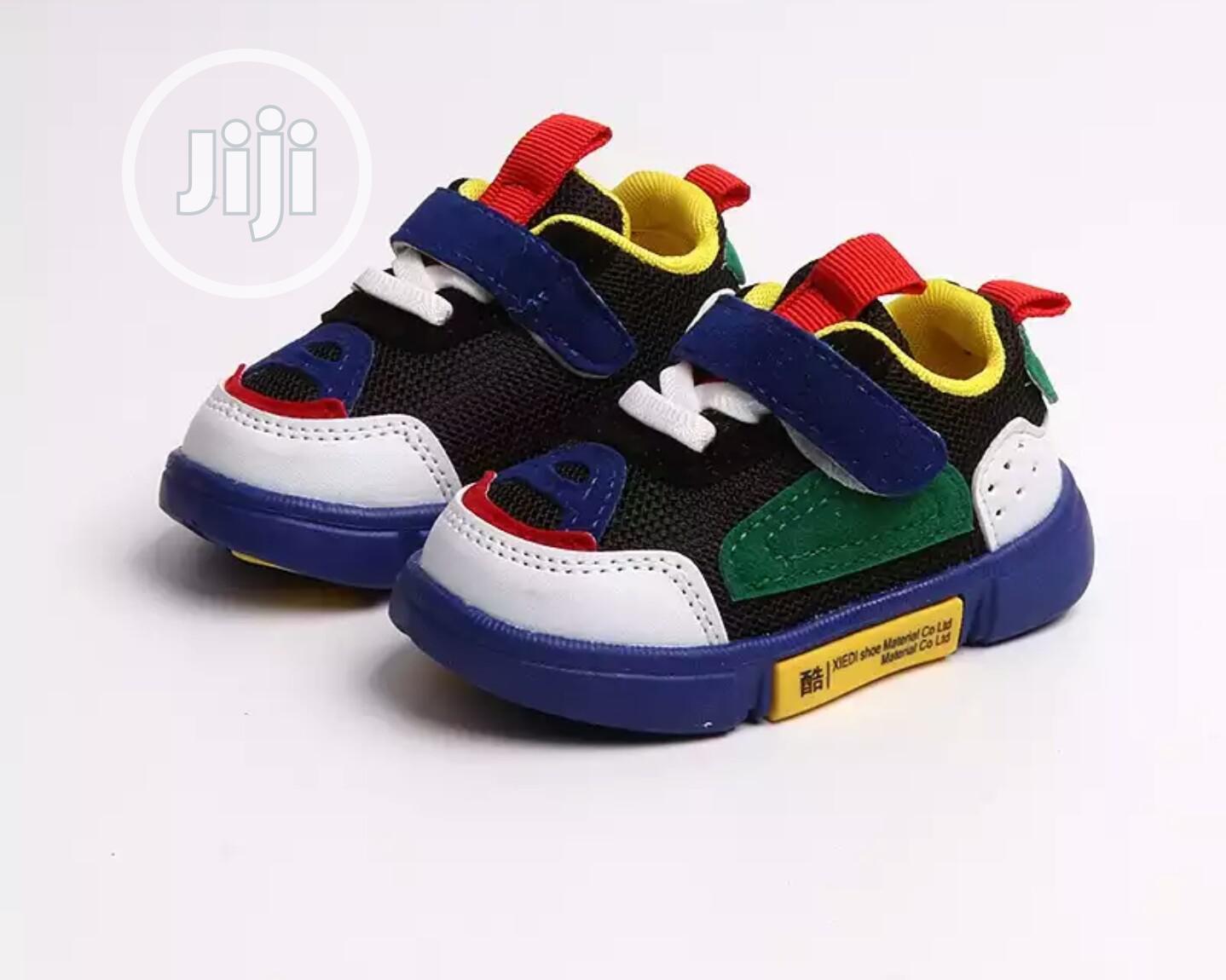 Multicolor Kiddies Sneakers