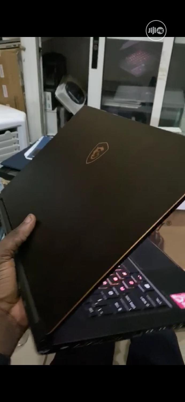 New Laptop MSI GS65 Stealth Thin 8RE 16GB Intel Core i7 SSD 512GB