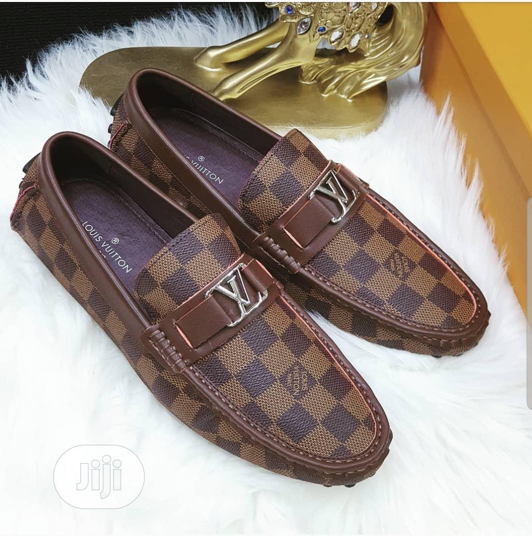 Louis VUITTON Original Men Loafers in
