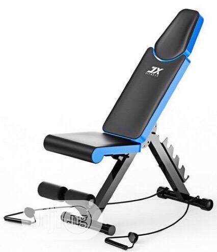 Brand New Imported JX Fitness Adjustable Sit-up Bench With DUMBELL