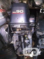 Fairly Used 1999 Yamaha 90hp Outboard Boat Engine | Vehicle Parts & Accessories for sale in Lagos State, Ikeja